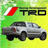 Calco Toyota Hilux Trd Calcomania Decoracion 4x4