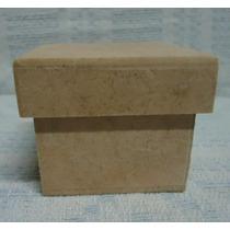 Caixa 6x6x5,6 De Mdf Crú ( Lote 10 Unidades ) Promoção