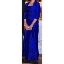 Vestido De Fiesta Para Madrina Azul Francia