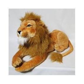 Rei Leão Simba Pelucia 1,65metros Grande Juba Dourada Rabudo
