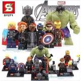 Justice League + Avengers Figuras De Colección X16