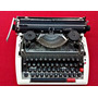 Antigua Máquina Escribir Brother Japonesa Funcionando