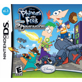 Nintendo Ds Phineas And Ferb Across The 2da Dimensión