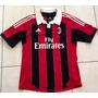 Camiseta Milan De Italia Hermosa Futbol Calcio