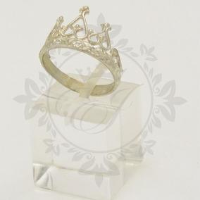 Anillos Plata 925 Con Forma De Corona Princesa Ideal Mujer!!
