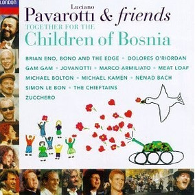 Pavarotti & Friends Cd U2 Jovanotti Meat Loaf Duran Eno