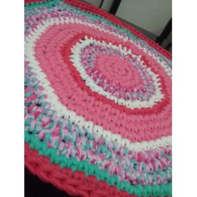 Alfombras De Totora Tejidas Al Crochet