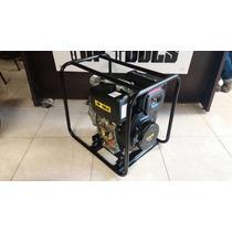 Bomba De Agua Motor Diesel 9hp 3x3 Alcanze Maximo 80 Metros