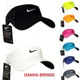 Viseira Boné Modelo Nike Cor Preto Branco Coloridas