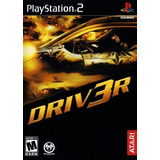 Jogo Patch Corrida Carro Driver 3 Play2 Ps 2 Playstation 2