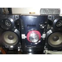 Equipo De Sonido Panasonic Sa-akx14 Cd Mp3 Usb