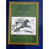 Revista Nacional Cultura #3 Leopoldo Lugones 1979