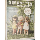 Publicidad Clipping Muñeca Simonetta Mini Casette Pielrose