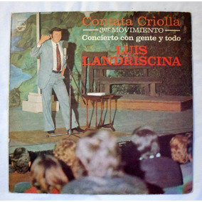Vinilo: Luis Landriscina / Contata Criolla 3° Movimiento
