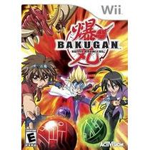 Juego Para Wii Bakugan Battle Brawlers! Envio Gratis