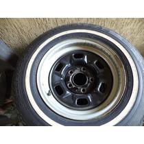 Jogo De Rodas P/ Camaro Aro 14 Sem Pneus 1400,00