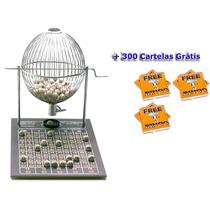 Jogo Bingo Globo Grande Nº3 Com 300 Cartelas Gratis