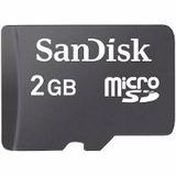 Memoria Celular Sandisk 2gb Micro Sd Originales Recoleta