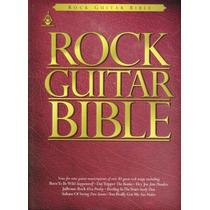 Rock Guitar Bible Tablatura Partitura Libro