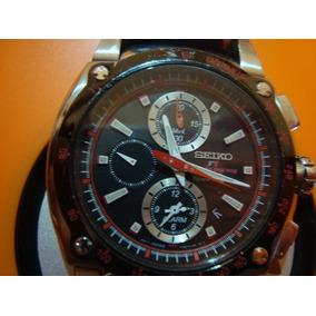 Relógio Seiko Formula 1 Vidro Safira +pulseira De Couro Raro