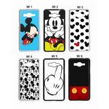 Capa Case Personalizada Mickey Minnie - Galaxy A3, A5 Ou A7