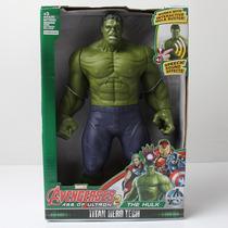 Boneco Hulk Capitão America Avengers 30 Cm Articulado