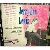 Jerry Lee Lewis Rollin The Rock Vinilo Argentino Promo
