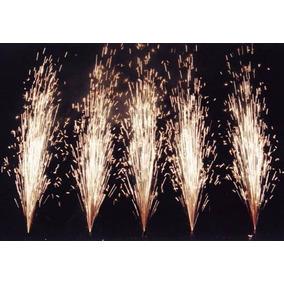 Chisperos Lluvia Fria 20seg 2m Pirotecnia Fria Certificado