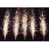 Chisperos Lluvia Fria 12seg 2m Pirotecnia Fria Certificada