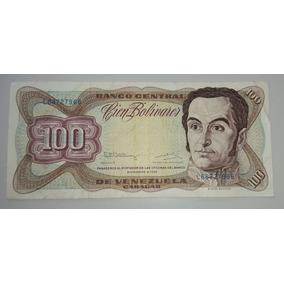 Venezuela Billete 100 Bolívares *011