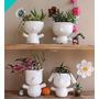 Macetitas Muñecos!! Ceramica!! Super Originales!!!