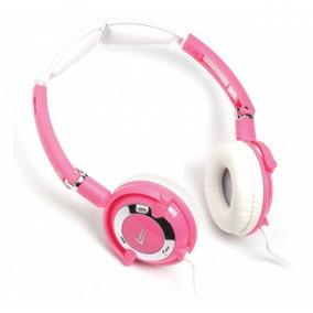 Fone De Ouvido Headphone Travel Rosa 2767 Leadership