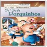 Os Tres Porquinhos Walt Disney [dvd Original Lacrado]