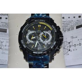 Relógio Casio Edifice Eqw-m710dc-1av Preto Com Amarelo
