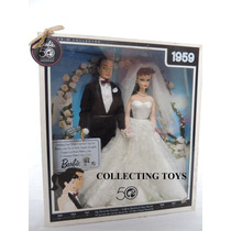 Barbie Noiva E Ken - Wedding Day - 50 The Anniversary - 1959