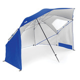 Sombrilla Paraguas Portátil 2m Canopy Uv Acero Playa Camping