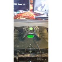 Xbox Negro Clasico Con 47 Juegos En El Disco Duro Funcionand