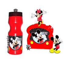 Cotillones Infantiles Mickey Minnie Mouse Cooler Sandwichera