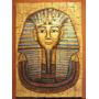 Cuadro Tallado Tutankamon Egipto En Relieve Y Textura
