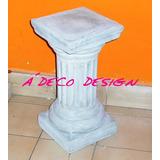 Columna De Cemento Chica 0.40 Adorno Fabrica Base