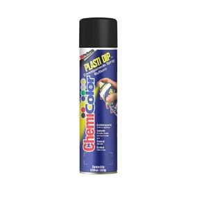 Kit Com 4 Tinta Spray Plastidip Preto Fosco 500 Ml 33023-0