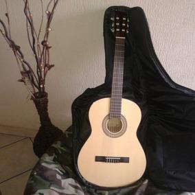 Guitarra Profesional Acústica Con Bolso Traida De Chile