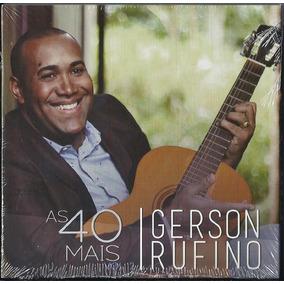 Cd Gerson Rufino - As 40 Mais - Vol 2 (bônus Pb)