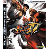 Street Fighter 4 Ps3 Sellado - Juego Fisico