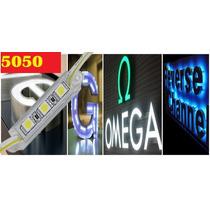 Modulos Led 5050 Con Recubrimiento Tira Anuncios Luminosos