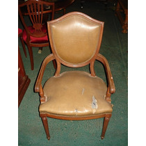 Antiguo Sillon De Sala O Dormitorio Estilo Ingles No Frances