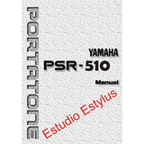 Manual Do Teclado Yamaha Psr 510 Em Português