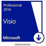 Ms Visio Pro 2016 - 32/64 Bits - Chave/serial De Ativação