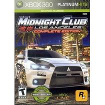 Midnight Club: Los Angeles: Complete Edition - Xbox 360 Novo
