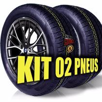 Kit 2 Pneu 225/50 R17 Michelin Cockstone Remold 5anos Gtia